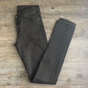 🌼 7 for all mankind gray skinny pants